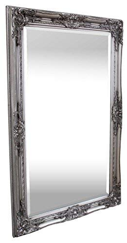 Espejo Pared - Estilo Barroco - Shabby Chic Espejo Grande 90x60 cm...