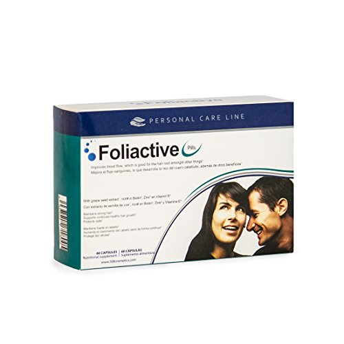 Caída del cabello - Foliactive Pills: Pastillas para detener la caída del...