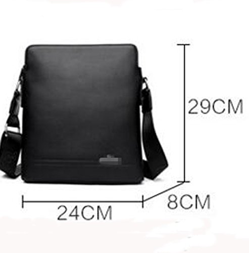 Männer Superb Qualität Concise Trend Gentleman Single Schultertasche Square Bag Schwarz Blue