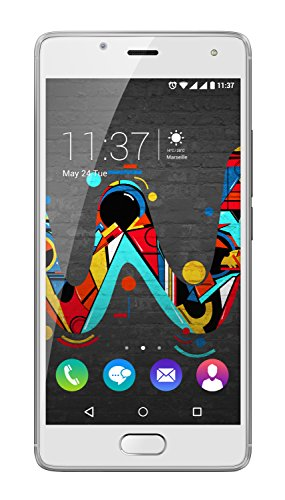 Wiko U Feel Smartphone (12,7 cm (5 Zoll) HD IPS-Display, Fingerabdruck-Sensor, 16 GB interner Speicher, Android 6 Marshmallow) creamy