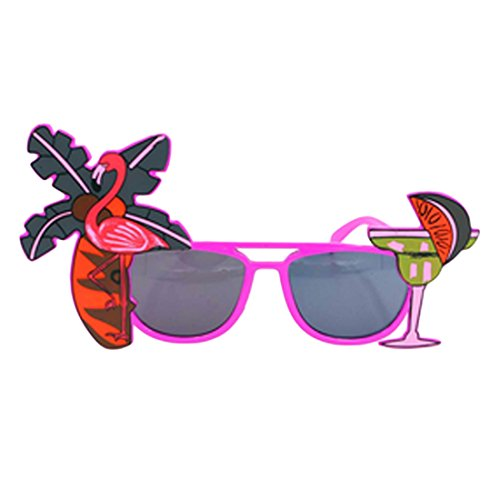 h Flamingo Ananas Sonnenbrille Brille Bachelorette Hen Night Stag Party Favors Karneval Party Dekoration ()