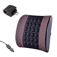 Jueven Car Waist Pad Car Headrest Protection Waist Comfort Car Back Cushion Car Car Home Dual-use Arc Car Waist Pillow Protection Lumbar Cushion (color : B)