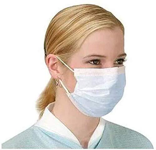 Schutzmaske/Atemschutzmaske, mit Ohrschlaufen, schützt vor Viren und Verschmutzungen, 10 Stück