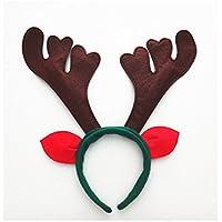 OFT 6pcs. Weihnachts Haarschmuck Kopfbügel Stirnband Weihnachtsschmuck