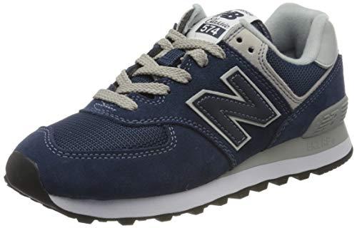 New Balance Damen Sneaker,WL574EN, Blau (WL574EN), 39 EU