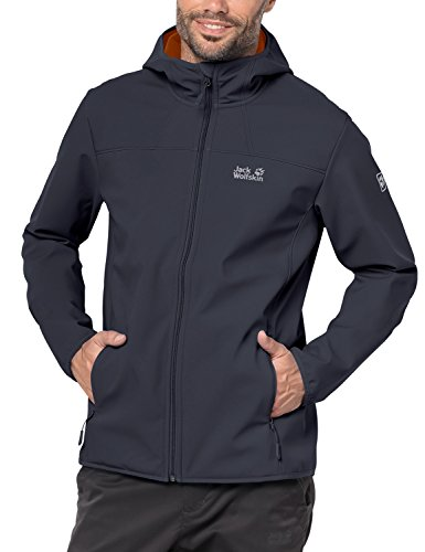 Jack Wolfskin Herren Northern Point Softshelljacke, grau (ebony), S