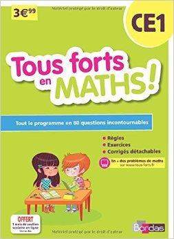 Tous forts en Maths CE1 de Collectif ( 2 janvier 2015 )