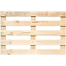 Europalet CABE120X80MADERA1 Palé de madera para cabecero de cama, ...