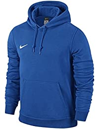Nike Team Club - Sudadera con capucha para hombre, hombre, color Royal Blue/Royal Blue/Football White, tamaño Large