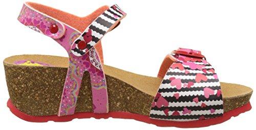 Desigual Strips W, Sandales Bride Arriere Fille Rose (Pink 3200)