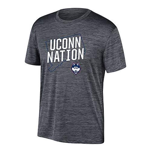 eLITe Top of The World Herren T-Shirt NCAA Poly Space Dye Invader, Herren, Men's Poly Space Dye Invader Tee, schwarz, XX-Large - Dye Herren T-shirt