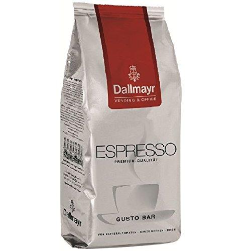 Dallmayr Espresso Gusto Bar 8 x 1kg ganze Bohne