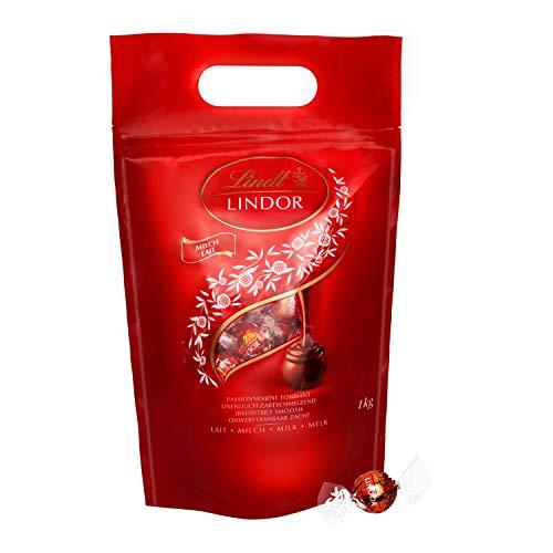 Lindt Lindor Milchschokoladenkugeln (glutenfrei - ca. 80 Kugeln) 1 kg