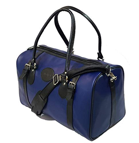 Monza Italy Multipurpose Foldable Leatherette Water-Resistant Travel, Sports, Gym Duffel...