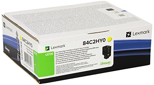 Preisvergleich Produktbild LEXMARK PB Toner yellow 16K CX725