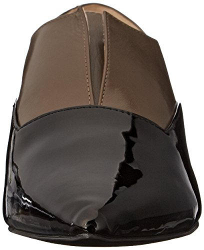 Nine West Treasure Cuir Mocassin Gry-Blk