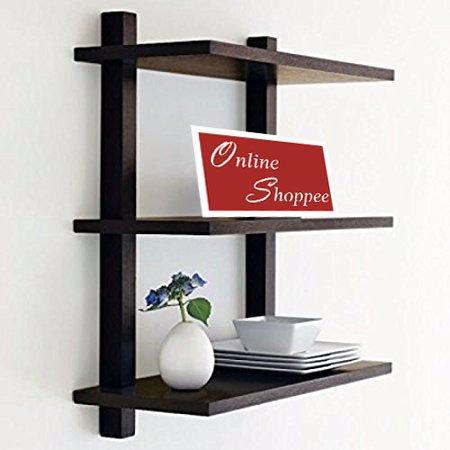 Onlineshoppee Nivel Floating Wall Shelves