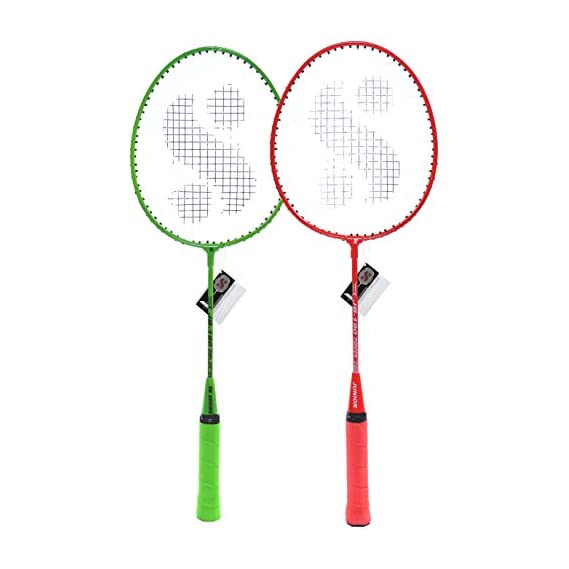 Silver's Kids SIL-JB190 Combo-4 Aluminum Badminton Racquet, Pack of 2