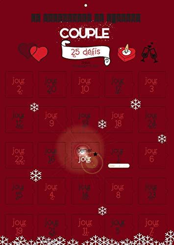 Calendrier de l'avent spécial couple 25 défis petites attentions - cadeau amoureux