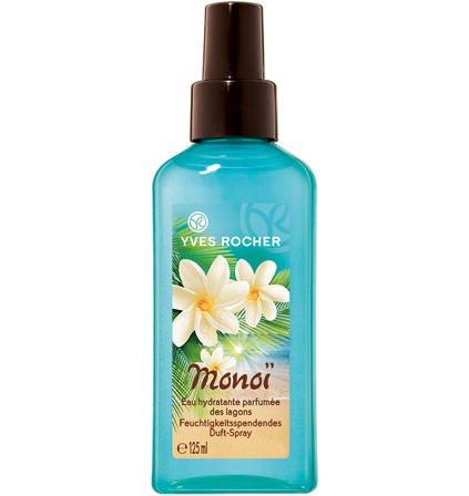 Yves Rocher – Monoï de Tahiti (125 ml): Feuchtigkeitsspendendes Duft-Spray mit angereichertem