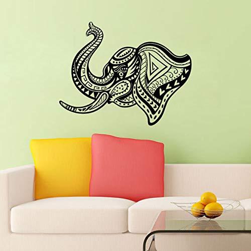 nkfrjz Wandaufkleber Indian Elephant Head Ganesha Lord Wanddekoration wandaufkleber kinderzimmer