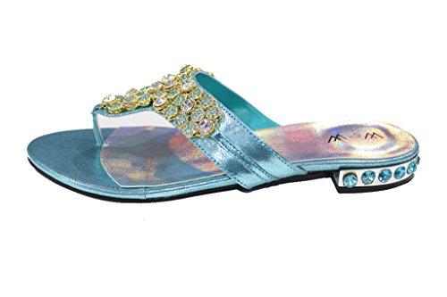 Usura Femme Uk Cabina Plateforme Sandales Turchese E U4BzTqwxF