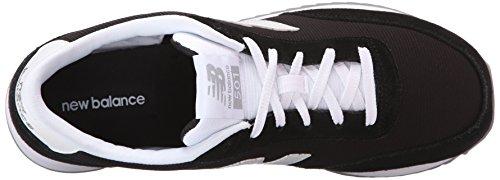 New Balance Men's MZ501V1 90's Normcore Running Shoe, Black/White, 10 D US Black/White