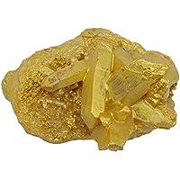 HARMONIZE glänzende goldene Selenit-Kristall-Cluster Reiki Healing Home Spirit-Energien-Generator Stein preisvergleich bei billige-tabletten.eu