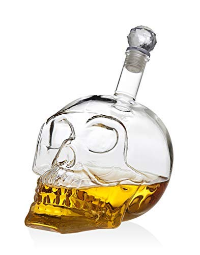 Dekanter/Likörspender für Scotch Whiskey Wein oder Wodka, 700 ml Scotch Dekanter