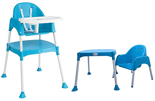 Cherry Berry - The Convertible Baby High Chair from R for Rabbit - Blue (Without Cushion)  available at amazon for Rs.3996