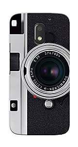 Kaira High Quality Printed Designer Back Case Cover For Motorola Moto E3 Power(Camera)