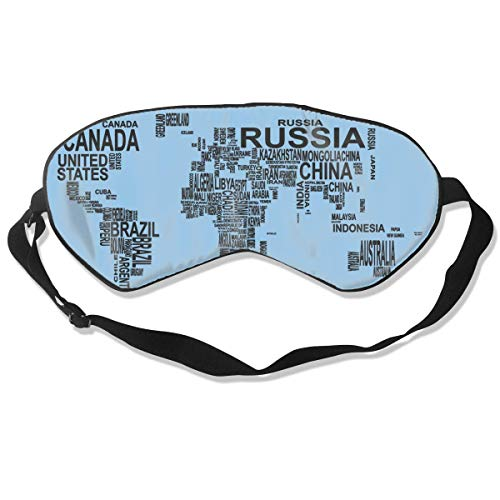 Masken, Masken für Erwachsene, Reusable, Warm Windproof Mouth Mask, Sleep Mask Map Eye Cover Blackout Eye Masks,Breathable Blindfold Soft Blindfold for Travel - Nap - Shift Work - Meditation White