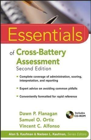 Essentials of Cross-Battery Assessment by Dawn P. Flanagan (April 6 2007)