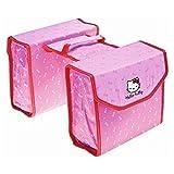 01170313K Hello Kitty Kinderfahrrad - Fahrradtasche Gepäckträger Doppeltasche