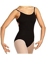 Capezio CC124 - Maillot de ballet, color negro negro negro Talla:12-14 / Large