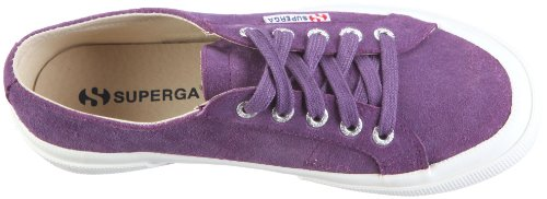 Superga  2750 Sueu, Sneakers Basses mixte adulte Violet (Violet)