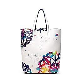 414ce5ba57 Desigual 19saxpbi Shopping Reversibile Donna
