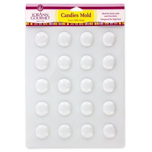 ff Form für runde Bonbons (Kunststoff-schokoladen-bonbons)