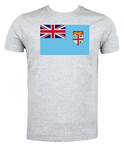 Sitio Oficial En Línea Barato Fijian Flag T shirt Rugby World Cup grigio Ubicaciones De Los Centros Barato En Línea Venta Barata Llegar A Comprar NmoorlvZRC