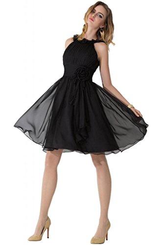 Sunvary Romantic uno Chiffon spalla e corsetto Cocktail Party Dresses Lavender