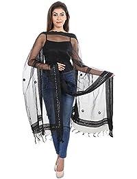 [Sponsored]DISHA Tissue Mirror Work Party Wear Dupatta Stole