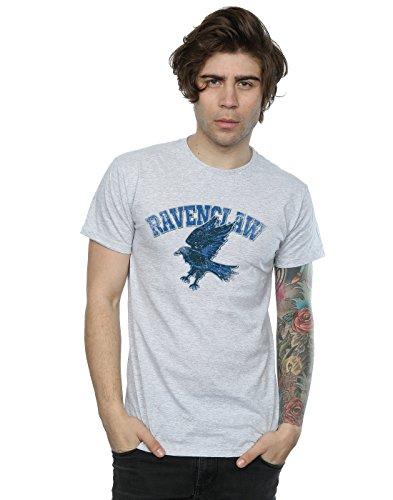 HARRY POTTER Herren Ravenclaw Sport Emblem T-Shirt Large Sport Grey