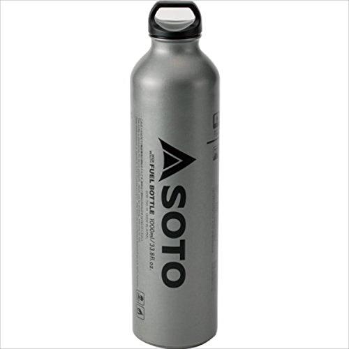 Soto Muka Weithals-Benzinflasche Silber, 1 Liter - Stove Muka