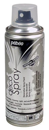 PEBEO Deco, Argento Cromo Spray, 200 ml