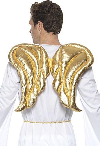 uxe Engel Flügel, gold, One Size (Engel Kostüm Amazon)