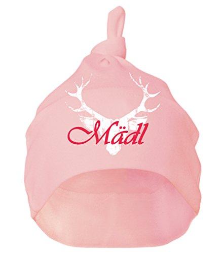 Mogo.cc, Babymütze, 3-6 Monate, S-62/68, rosa