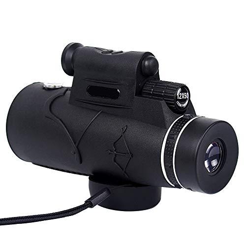 Zyl HD Monokulare, Ganz Optisches Prisma-Und Dual-Fokus-Teleskop, wasserdichte, Bewegliche Spektive Für Die Vogelbeobachtung Beleuchtet Mit Laser Long Shot