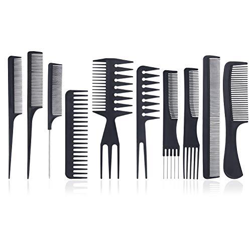 Styling Comb Set - 10pcs Peluquería profesional Peine