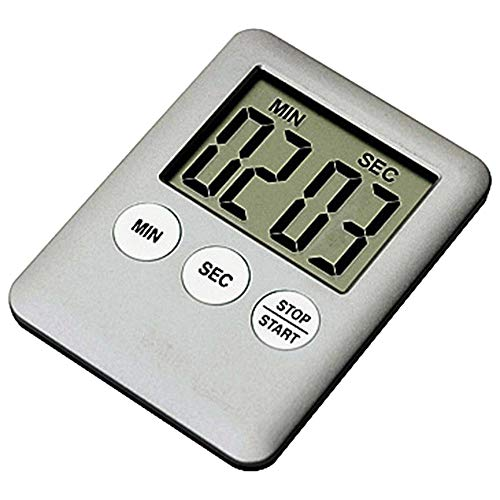 Jerfer large digital lcd kitchen cooking timer count-down up clock alarm magnetico