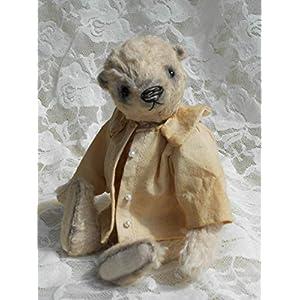 Künstlerbär Lanz von den Urbi-Bären. Handgefertigte Künstlerbären, Teddybären, Teddys, Bären und Tiere im vintage und old style Look